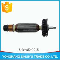 power tool pump motor rotor shaft
