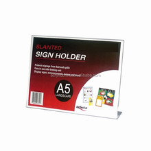New products 2016 A landscape clear acrylic menu holder budget priced