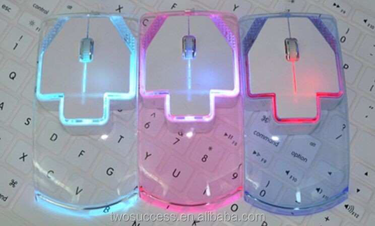 colorful LED optical transparent mouse wireless.jpg