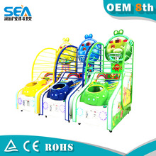 L02-A haimao 2015 arcade kids and adult new tickets for arcade games , indoor games , amusement basketball game machine