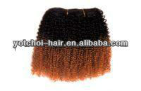 Hot sale 100% human hair two ton hair color image