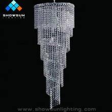 iluminación cristalina de interior
