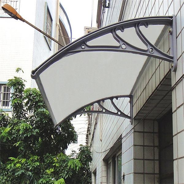 Polycarbonate diy canopy balcony sun shade pc canopy for for Balcony shades