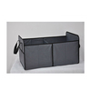 New multipurpose foldable car storage box car trunk organizer with 3 compartments