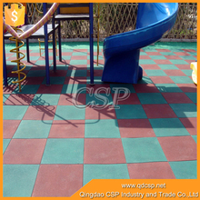 Non toxic anti static anti slip rubber mat flooring for park with high quality
