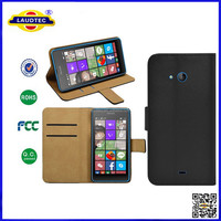 2015 Popular PU Book Leather Cover for Microsoft lumia 540