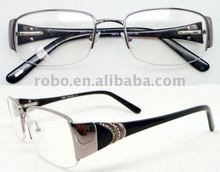 ladys eyewear with metal decoration and stones