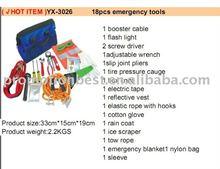 Car or motorcycles emergency tool kits
