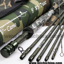 Exclusively New Camo Design carbon Travel fly fishing rod