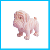cheap christmas pvc dog toy toy vending machine plasitc capsule toy