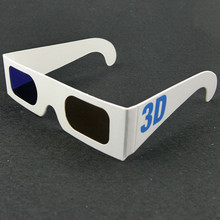 2015 new OEM promotional cardboard glasses paper 3D glasses