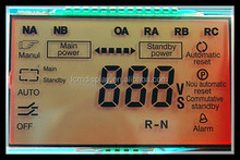 wenzhou graphic monochrome positive auto panel lcd display