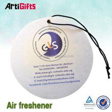 Hot selling custom logo best sell customize paper car air freshener