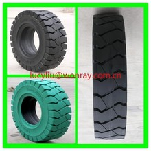 Hot sale quality assured solid tire rubber white 23x10x12 forklift drive wheels