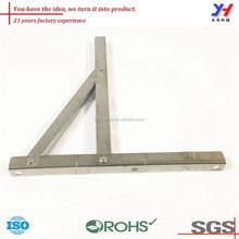 OEM ODM customized wall mounted stainless steel handrail bracket/cheap fan wall mount bracket