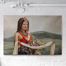 Custom Oil Portrait Painting Original Paintings