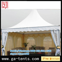 aluminium frame fire,water,sun proof 190t polyester taffeta tent fabric 850G/SQM top cover 650G/SQM sidewall