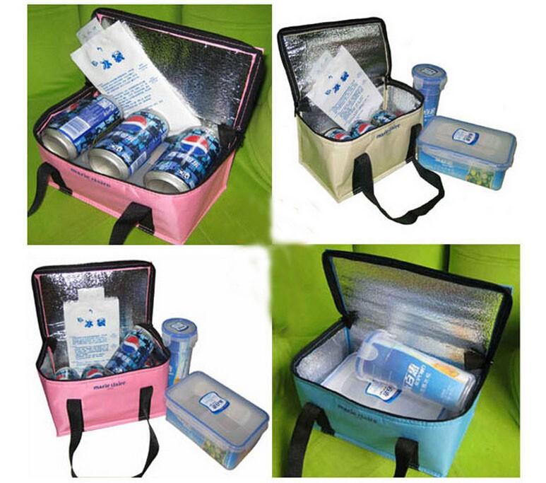 пикник обед мешок мешок тепловой Размер 23 * 14,5 * 13cms s на улице дешево высокого качества so103