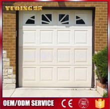 YQG-01 cheap garage doors, weaven fabric curtain automatic garage door opener