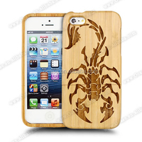 For iPhone 5 Back Cover Housing With Scorpion Wholesale