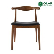 modern classic replica wood hans j wegner restaurant used elbow dining chair