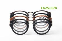 latest design new arrival optical eyewear frames with metal bridge round acetate frames China wholesale