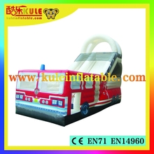 KULE commercial inflatable stair slide toys for sale/giant adult inflatable slide