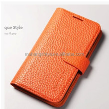 Genuine leather Sa m sung s4 mobile phone cover