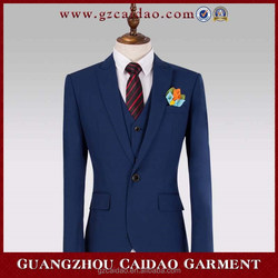 Custom made new style good quality man suit in china