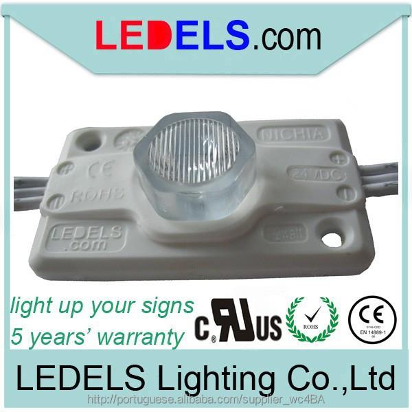 ledparaletrascaixa com uma de 24 volts 1,2 watts sidelight Osram / Cree / Nichia Led Module UL authenticate:E4683893