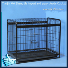 factory price foldable stainless steel dog cage for large dog pet cage china dog cage