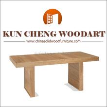 Natural oak finish solid oak dining table bar stool/lamb table