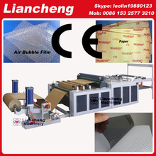 30 kinds Bubble film, EPE, paper, plastic etc hot sell in African, india etc PLC DC toilet paper roll cutting machine