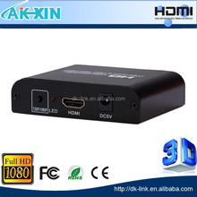 RCA Composite AV | S-video R/L Audio to One HDMI 720P / 1080P PAL | NTSC Output Upscaling Converter