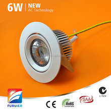 OEM & ODM welcomed led emergency light ceiling mounted 6w 10w no driver led downlights