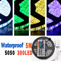150/300 LED 5M 3528 5050 RGB LED Light Strip Light with Remote Control