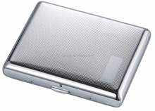 Cool Slim Metal RFID Business Card Case - Holds Up to 6 Credit Cards