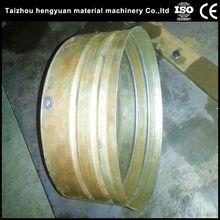 La pila de concreto de hormigón y extremo del poste automatictongue y la ranura de la cara de la brida 400-6000mm que hace