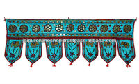 decorative handmade cotton embroidered door hanging toran