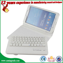 China Factory Removable Wireless Universal bluetooth keyboard with high quality PU case for Samsung T230 T330 T530