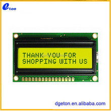 TRANSFLECTIVE 16X2 CHARACTER LCD MODULE FOR MEDICAL INSTRUMENT