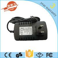 CE/Rohs/FCC ac adapter output 12v 1a