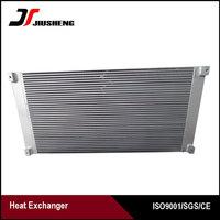 China Aluminum Hydraulic Oil Cooler For Excavator
