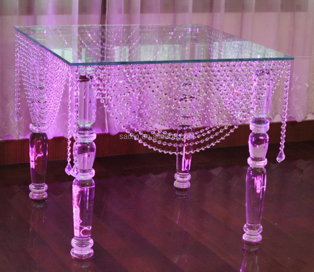 Beautiful crystal cake table wedding decorate zt 151 2 for Where can i buy wedding decorations