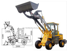 XD918F 4.5M 0.8Ton High Dump wheel loader china agricultural equipment