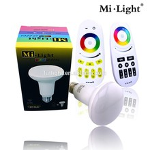 mushroom bulb RGB smart wifi control Par30 bulb Mi.light R80 2.4G RF wireless light solar installation prices in egypt led bulb