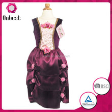 Baby girls party dress 2015 fashion fancy evening dress costume easy cosplay costume dress