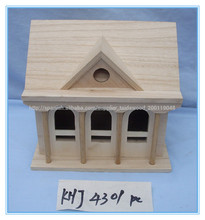 antiguos de madera casa del pájaro