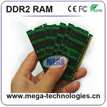 Import computer parts from china with CE FCC RoHS memory 2gb ddr2 ram