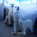 El oso polar de la artesanía